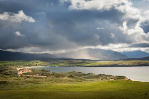 Schauer über den Northwest Highlands