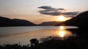 Sonnenuntergang Loch Earn
