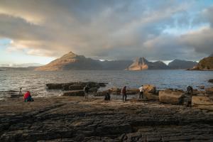 Fotografen auf Motivsuche, Elgol, Skye Fotoreise