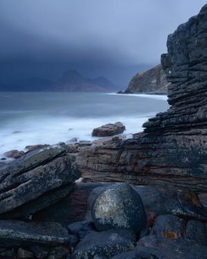 Die Steinkugel, Elgol, Fotoreise