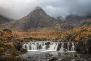 Herbststimmung, Fairy Pools, Skye Fotoreise