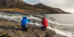 Fotografieren am River Scavaig, Loch Coruisg, Skye Fotoreise