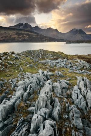 Karstgestein und Blaven, Skye Fotoreise