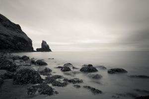 Nebelstimmung Talisker Bay, Isle of Skye