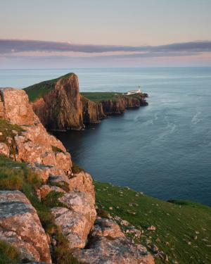 Sonnenuntergang bei Neist Point, Isle of Skye