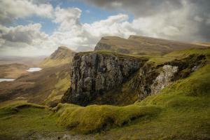 Quiraing Stimmungsvolles Licht, Skye