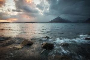 Aufziehender Sturm, Elgol, Skye