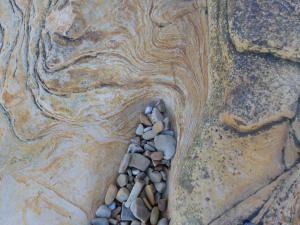 Felsen Moray Küste
