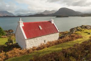 Das rote Haus, Loch Torridon,