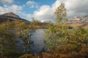 Herbstfarben Loch Clair, Torridon Fotoreise, Schottland