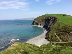 Steilküste Borth