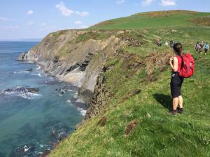 Aberystwyth Steilküste