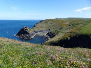 Boscastle Cornwall Wanderreise