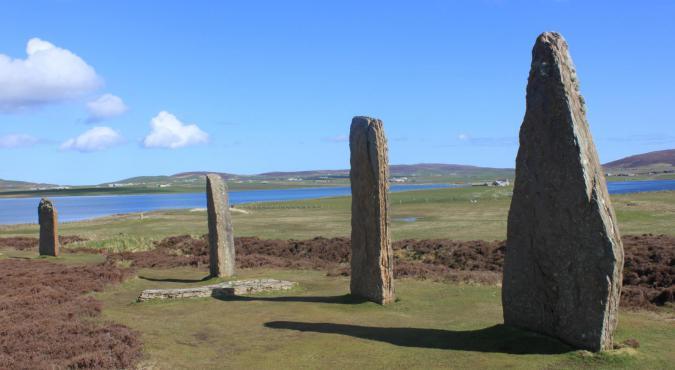 Orkney Wanderreise - Ring of Brodgar