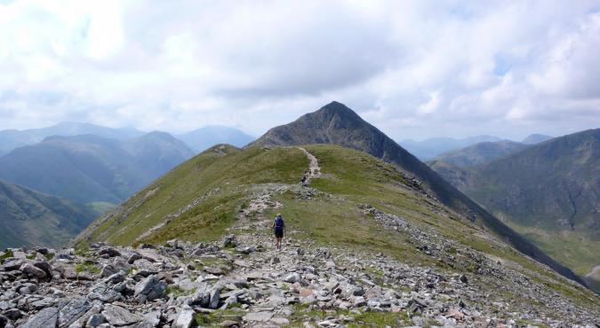 Bergwandern in Glencoe
