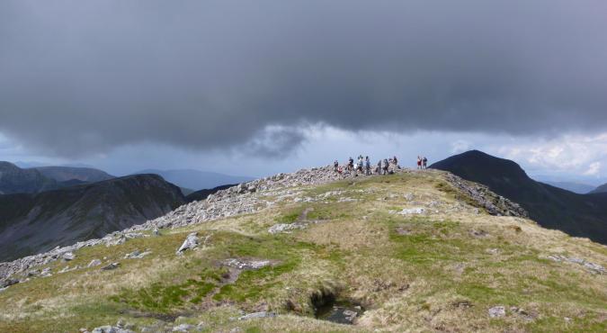 Bergwandern in Schottland